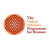 The Vedica Scholars Programme for Women logo - JFH