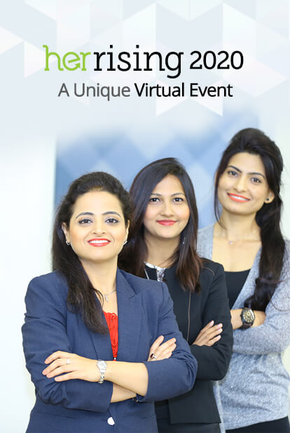 India's Biggest conference and Career Fair for Women Returning to work. HerRising