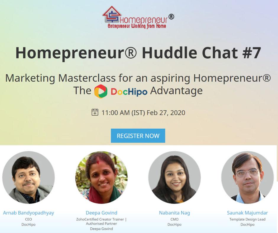 Marketing MasterClass for Aspiring Homeprenuers!