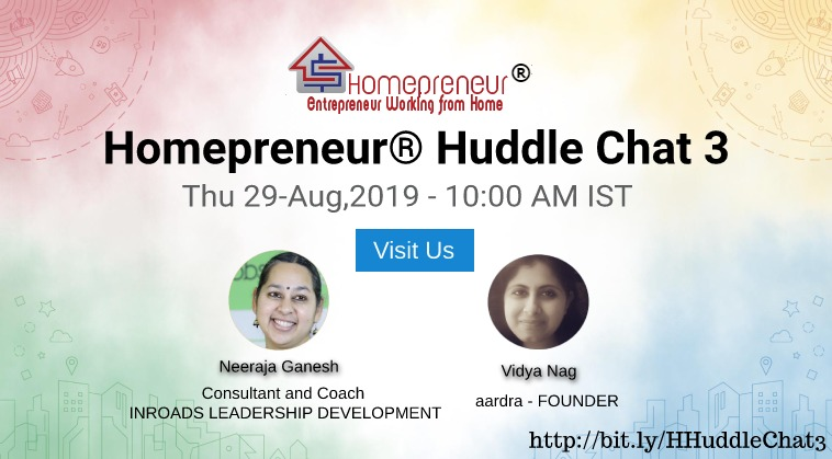 Homepreneur® Huddle Chat3
