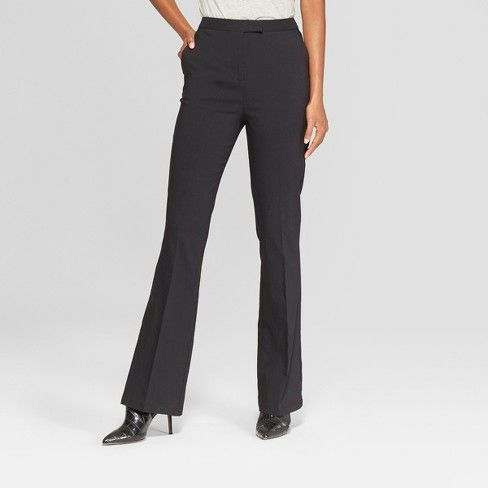 JobsForHer recommended grey bootcut trousers for women workwear