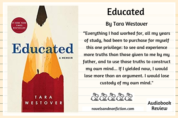 Quote from Educated by Tara Westover_JobsForHer