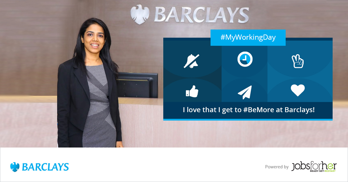 My Working Day at Barclays