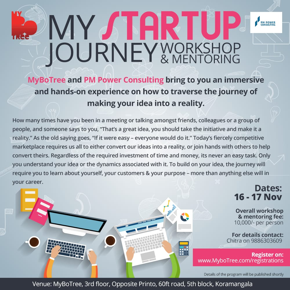 My Startup Journey - An immersive and hands-on experience