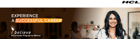 iBelieve – HCL's Career Program for Women
