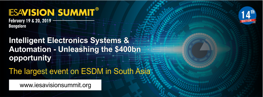 IESA Vision Summit - largest ESDM event in South Asia