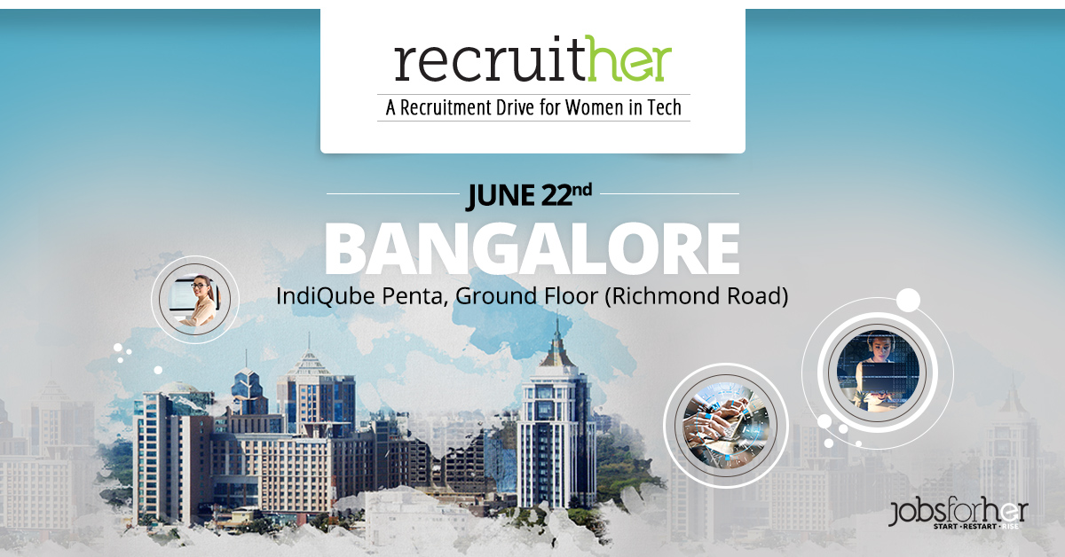 recruither-bangalore-a-recruitment-drive-for-women-in-tech