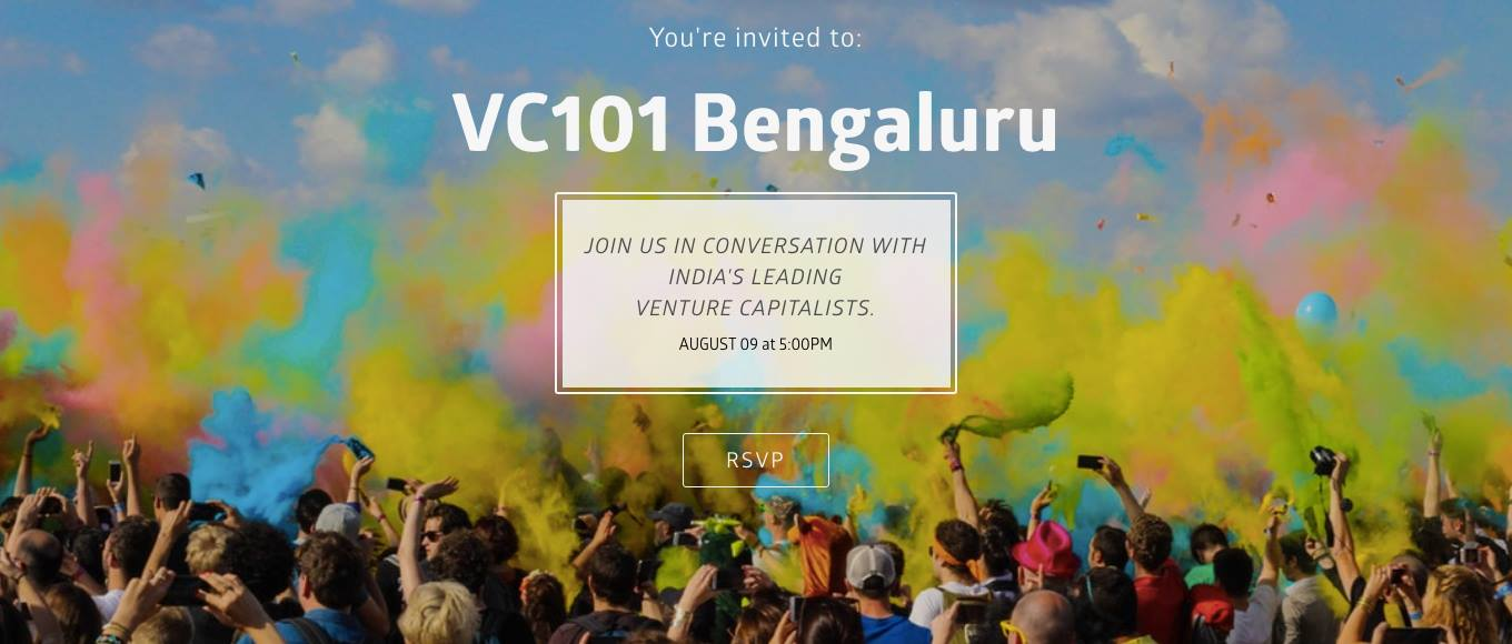 VC101, Bengaluru (ON A MISSION TO  OPEN UP THE WORLD OF  VENTURE CAPITAL)