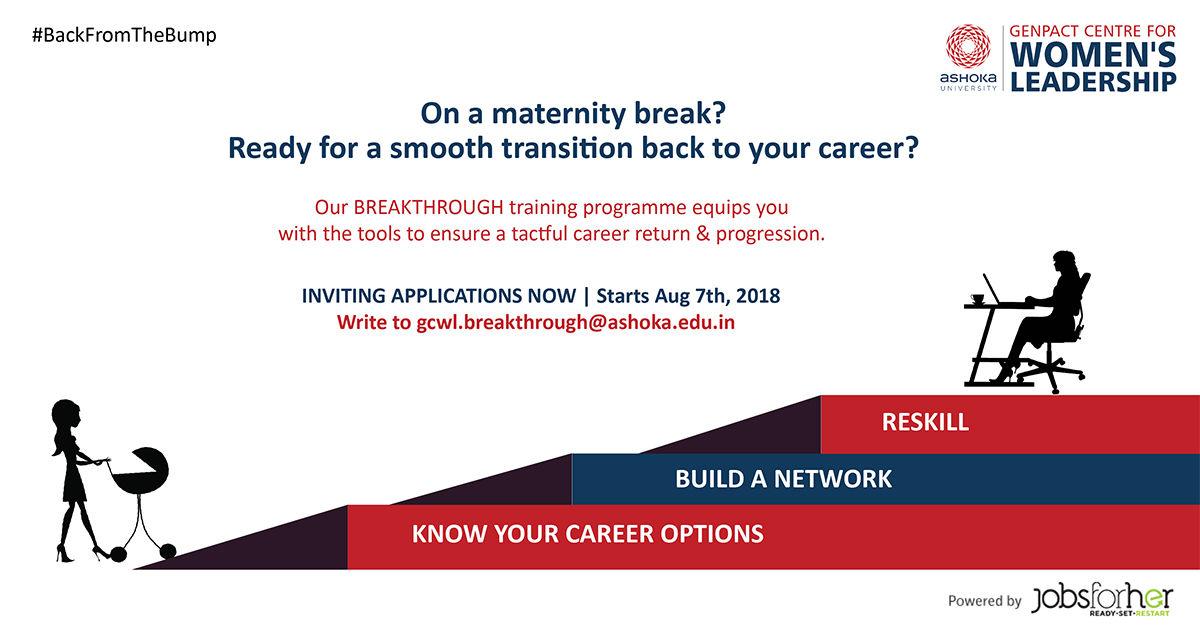 GCWL's Breakthrough Training for Returning & Working Moms