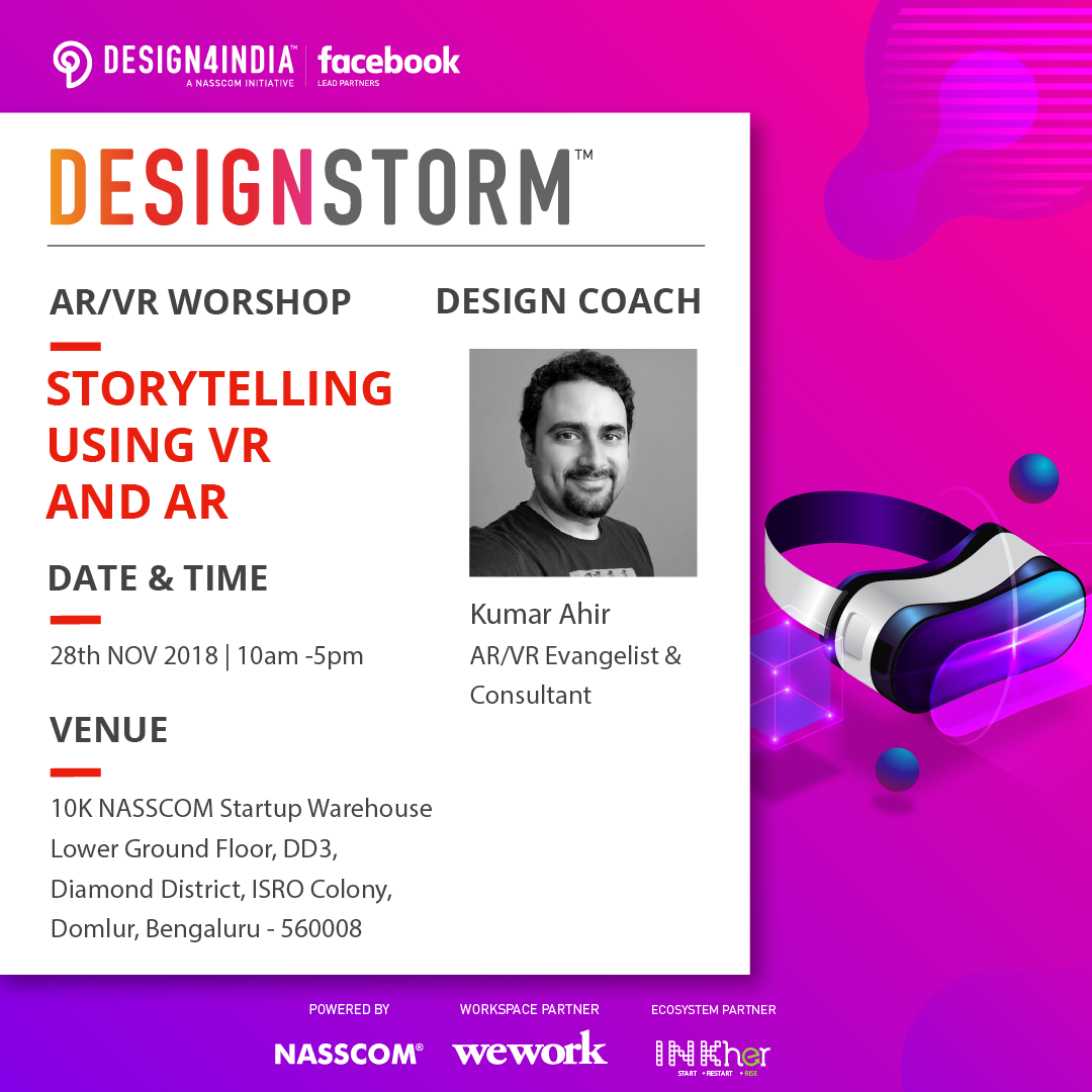Storytelling using VR and AR