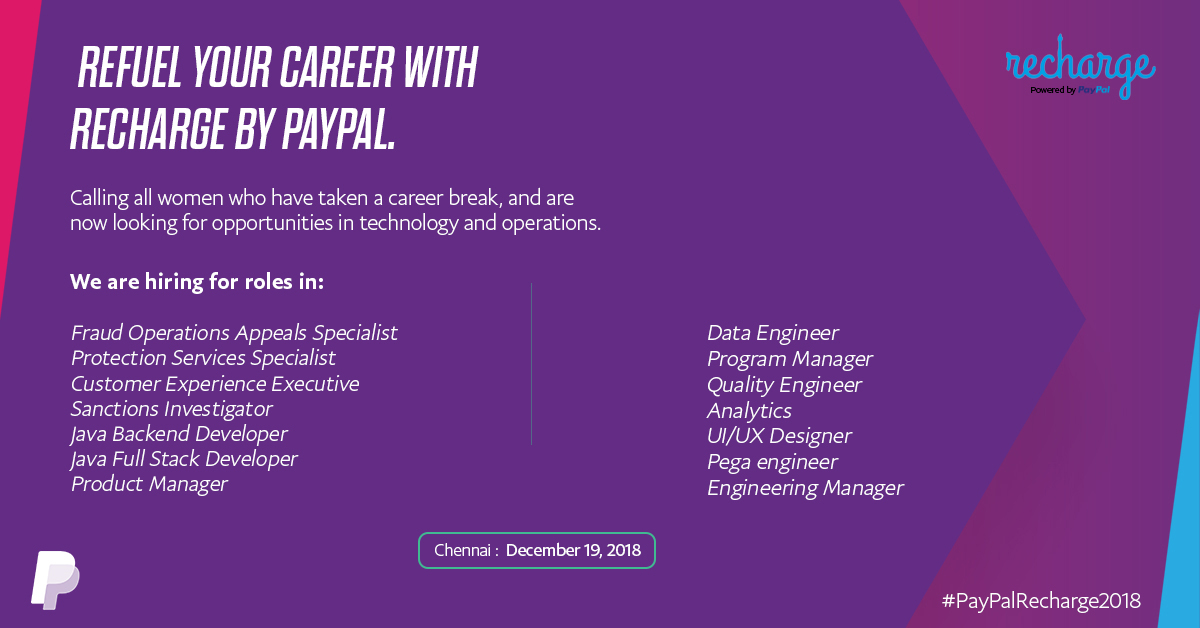 recharge-by-paypal-a-bootcamp-for-women-tech-returnees-leading-to-jobs