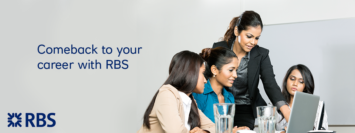 Comeback to your Career with RBS