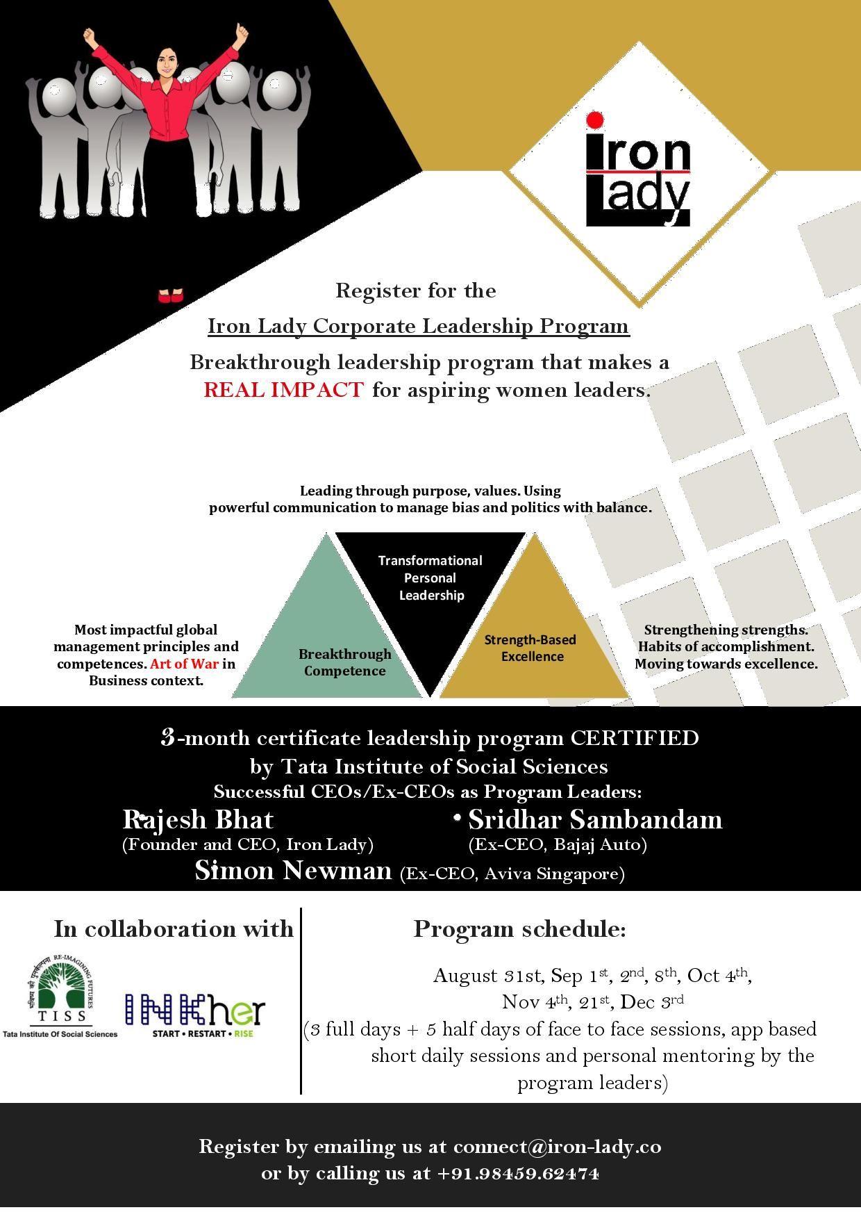 Iron Lady Leadership Program