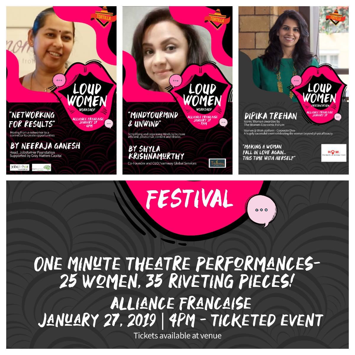 loud-women-one-minute-theatre-festival-and-break-out-sessions-for-women